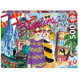 PUZZLE 500 LLEVAME A BARCELONA