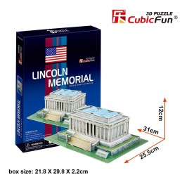 LINCON MEMORIAL - 3D PUZZLE