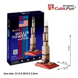 TORRE SEARS 3D PUZZLE