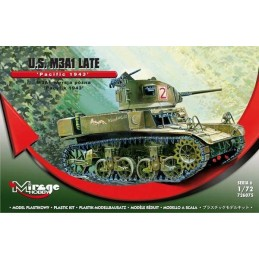 1:72 M3A1 LATE US PACIFIC 1943