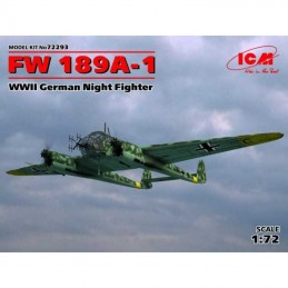 1:72 FW 189A-1 WWII GERMAN...