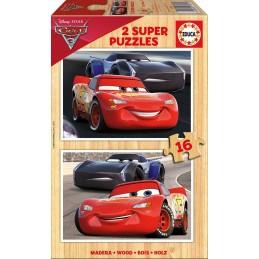 PUZZLE 2X16 CARS 3