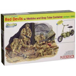 1:35 RED DEVILS w/Welbike...