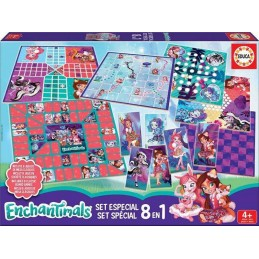 SET 8 EN 1 ENCHANTIMALS