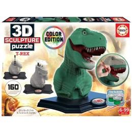 3D PUZZLE SCULPTURE T-REX...
