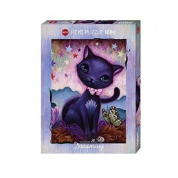 PUZZLE 1000 BLACK KITTY