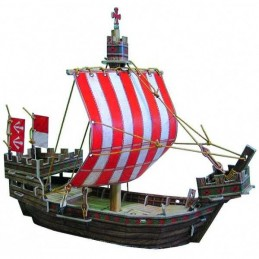 3D BARCO MEDIEVAL - CLEVER...