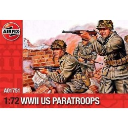 1:72 WWII US PARATROOPS