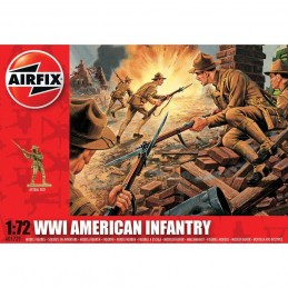 1:72 WWI AMERICAN INFANTRY