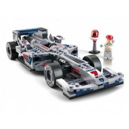 SLUBAN F1 RACING CAR SILVER