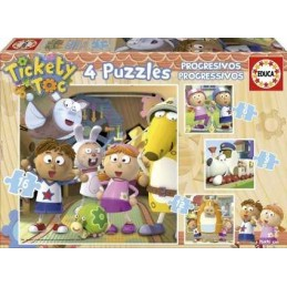 PUZZLE PROGRESIVOS TICKETY TOC