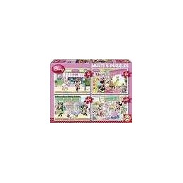 MULTI 4 PUZZLES MINNIE