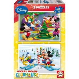 PUZZLE MICKEY MOUSE 2x48