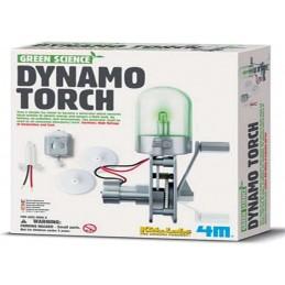 4M GREEN DYNAMO TORCH -...