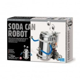 4M GREEN TIN CAN ROBOT
