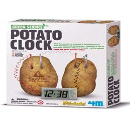 4M GREEN POTATO CLOCK