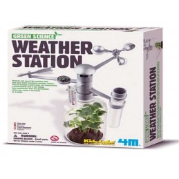 4M GREEN WEATHER STATION