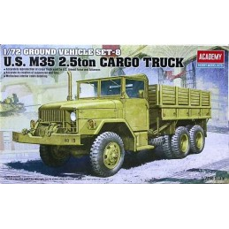 1:72 U.S. M35 2.5T CARGO TRUCK