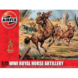 1:72 WWI ROYAL HORSE ARTILLERY