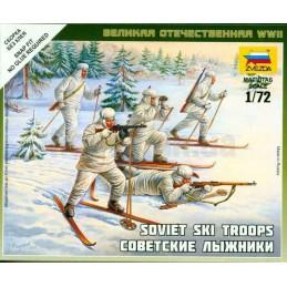 1:72 SOVIET SKI TROOPS WWII