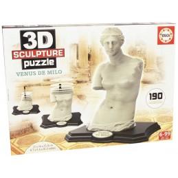 3D SCULTURE PUZZLE VENUS DE...