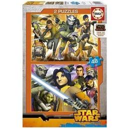PUZZLE 2X48 STAR WARS REBELS