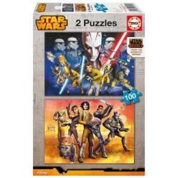 PUZZLE 2X100 STAR WARS REBELS