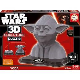 PUZZLE 3D SCULPTURE YODA