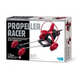 4M GREEN PROPELLER RACER