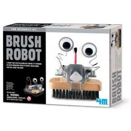 4M GREEN BRUSH ROBOT