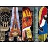 PUZZLE 1000 COLLAGE DE PARIS