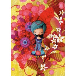 PUZZLE 1000 BLUE LADY KETTO
