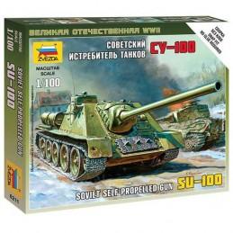 1:100 SU-100 SOVIET...