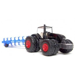 SIKU TRACTOR WITH PLOUGH 1/87