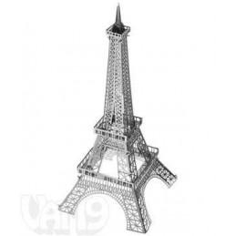 MODEL EIFFEL TOWER 3D...