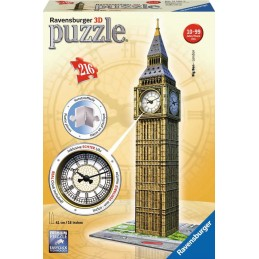 BIG BEN LONDON 3D CON RELOJ...