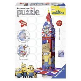 BIG BEN MINIONS 3D PUZZLE