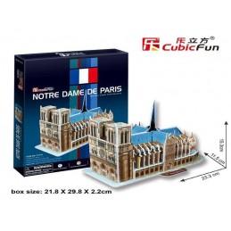NOTRE DAME DE PARIS 3D PUZZLE