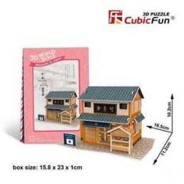 SUSHI HOUSE 3D PUZZLE