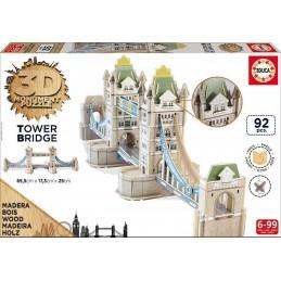 PUZZLE 3D MADERA TOWER BRIDGE