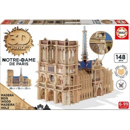 PUZZLE 3D MADERA NOTRE-DAME...