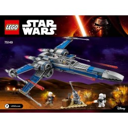 LEGO RESISTANCE X- WING...