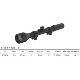 VISOR GAMO VE4X28TV