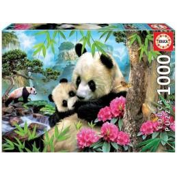 PUZZLE 1000 MORNING PANDA