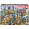 PUZZLE 1500 ASIA LANDMARKS