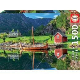 PUZZLE 1500 VIKING SHIP