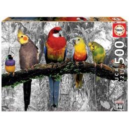 PUZZLE 500 BIRDS COLOURS...