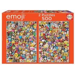 PUZZLE 2X500 EMOJI