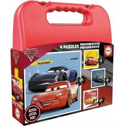 PUZZLE MALETA PROG. CARS