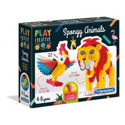 SPONGY ANIMALS - PLAY CREATIVE